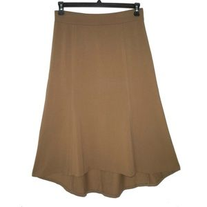 NWT J. Jill S Perfect Pima Cotton Skirt Asymmetric